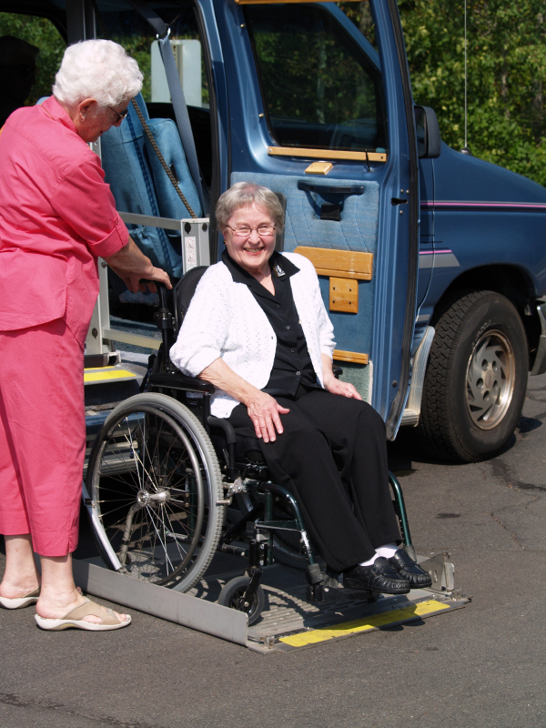 wheelchair van tie downs, van wheelchair lifts, wheelchair van driver, wheelchair accessable van maine